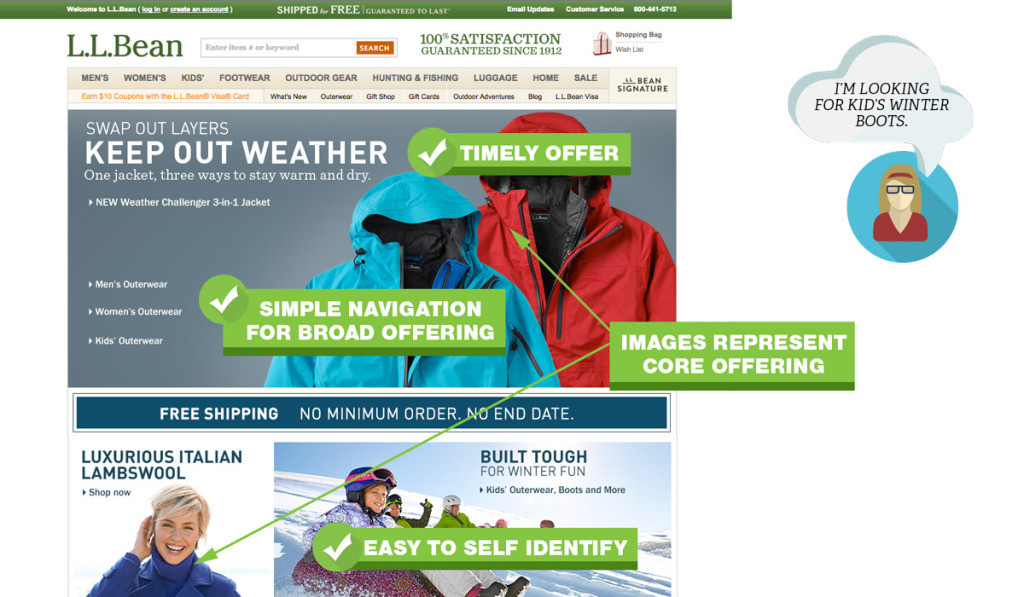 UX-Best-Practices-LL-Bean-Home-1024x597